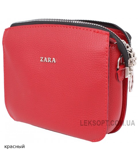 Женская модельная сумка Zara кожзам 24х18х11 - Za104-100