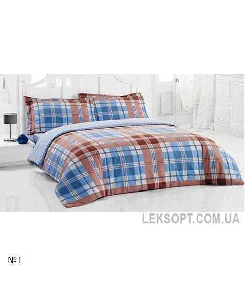 Комплект постельного белья Arya Ранфорс Merlin Mavi №9379