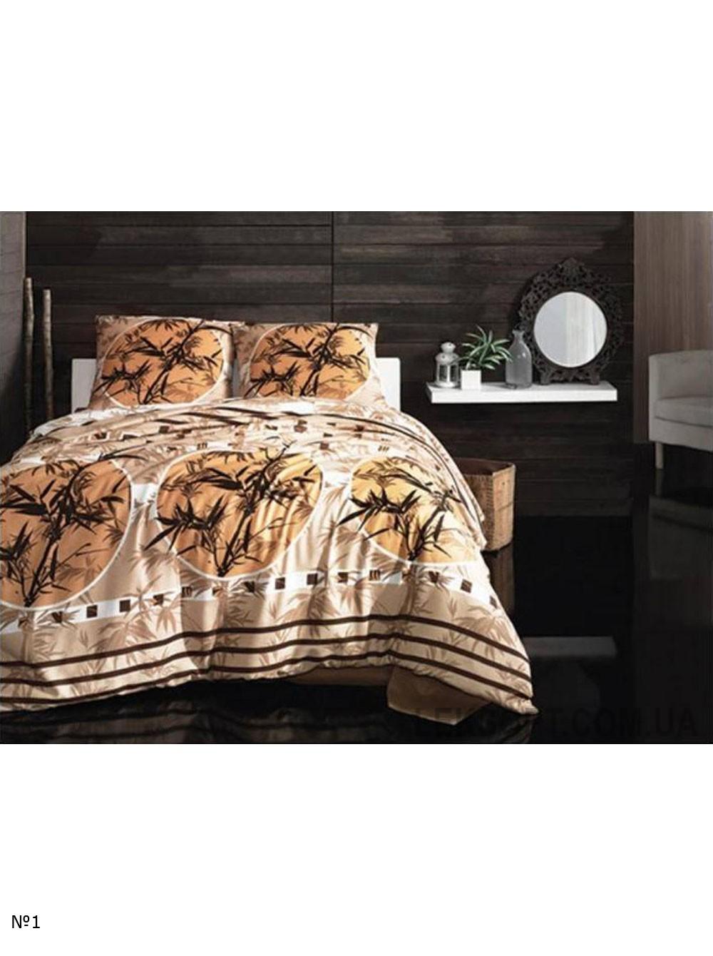 Комплект постельного белья Arya ранфорс Zen Kahve №9393