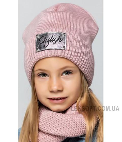 Детская вязаная шапка D663285-48-52 Жасмин