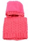 Детская вязаная шапка D614460-44-48 Виола комплект