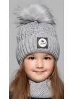 Детская вязаная шапка D621295-46-50 Свити