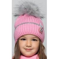 Детская вязаная шапка D658295-44-48 Бейби