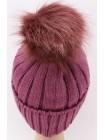 Детская вязаная шапка №26190-54-56