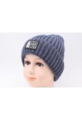 Детская вязаная шапка D616285-48-52 Бен