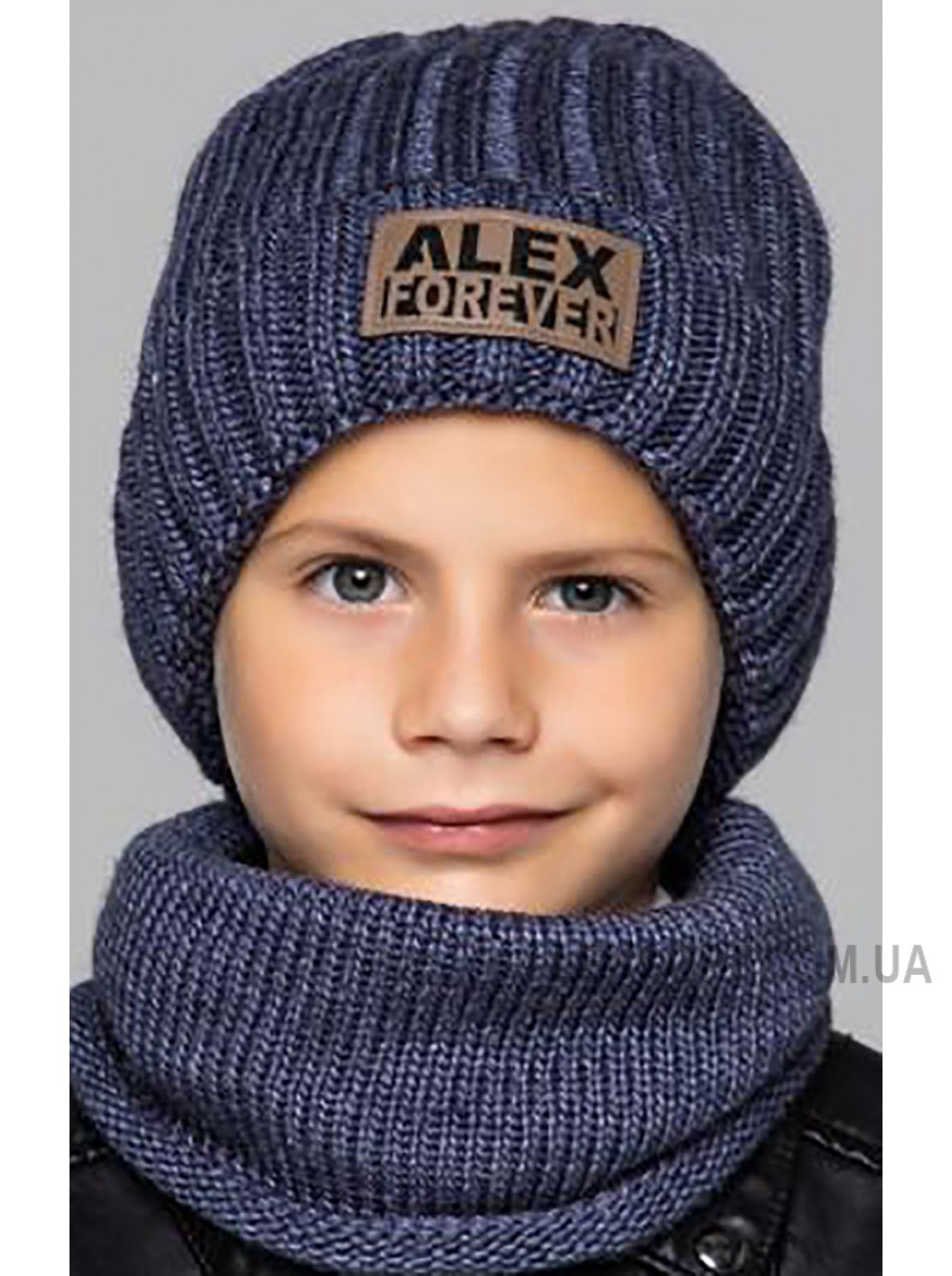 Детская вязаная шапка D657285-50-54 Форевер