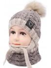 Детская вязаная шапка D610460-44-48 Ден