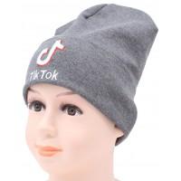 Детская трикотажная шапка Тик-ток