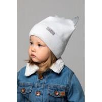 Детская вязаная шапка Гламур D76131-44-48