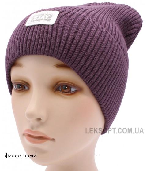 Детская вязаная шапка №010185-54-56