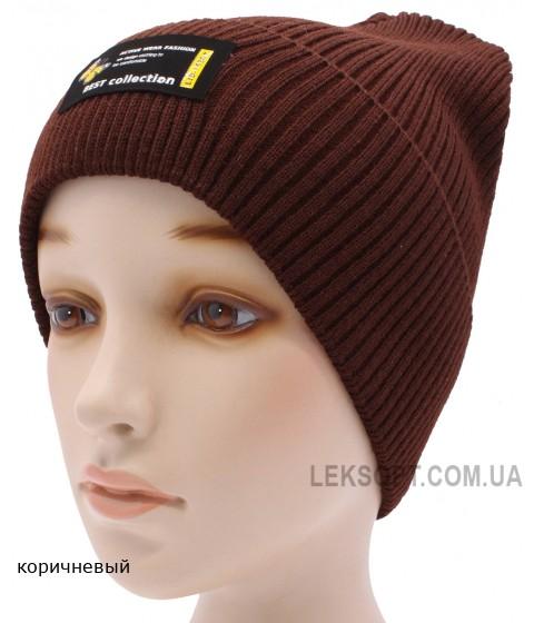 Детская вязаная шапка №036185-54-56