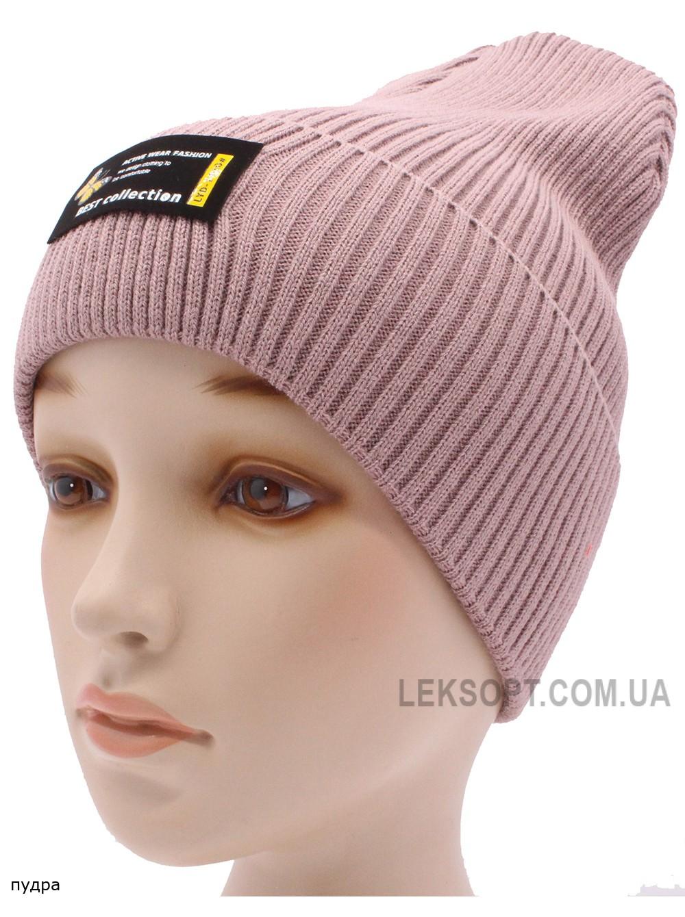 Детская вязаная шапка №053185-54-56