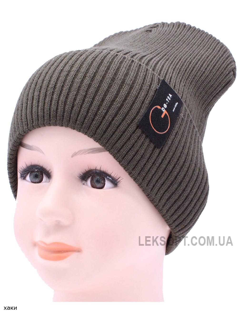 Детская вязаная шапка №024185-54-56