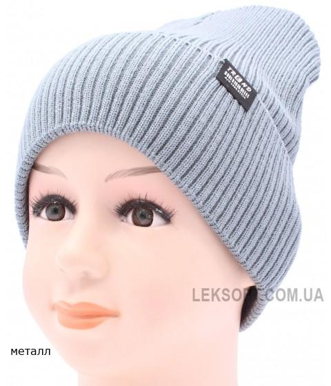 Детская вязаная шапка №029185-54-56
