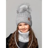 Детская вязаная шапка Ева D72332-46-50