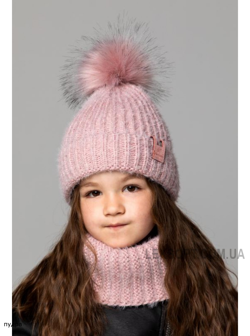 Детская вязаная шапка Милана D75836-48-52
